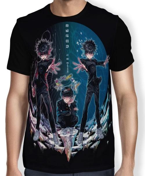 Camisa FULL Tri Sides - Mob Psycho 100