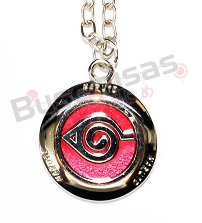 NA-168 - Medalha Aldeia da Folha - Naruto