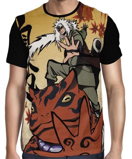 Camisa FULL Comics Jiraiya - Naruto