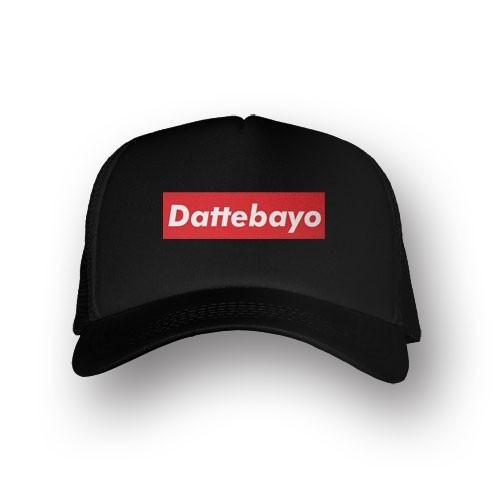 Boné Trucker Dattebayo - Naruto - Preto