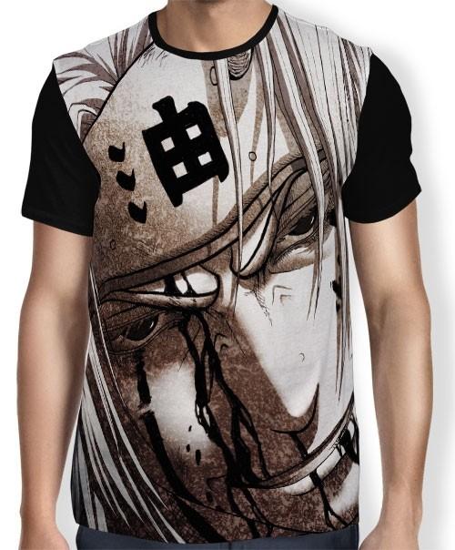 Camisa FULL Draw Jiraiya - Naruto