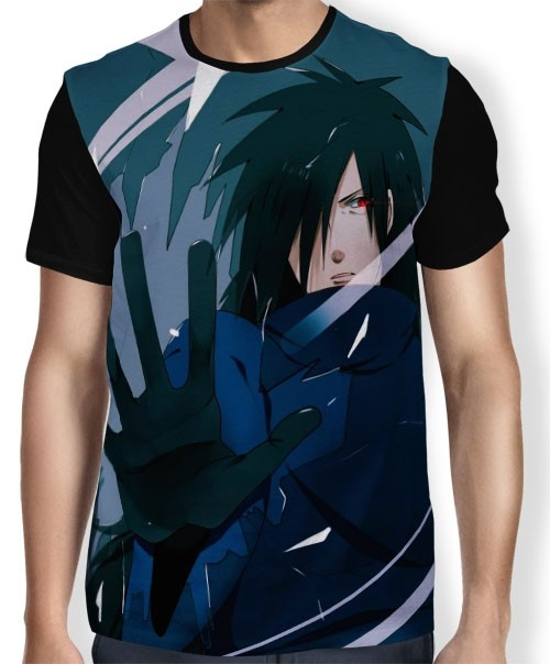 Camisa FULL Face Madara - Naruto