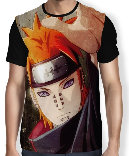 Camisa FULL Face Pain - Naruto