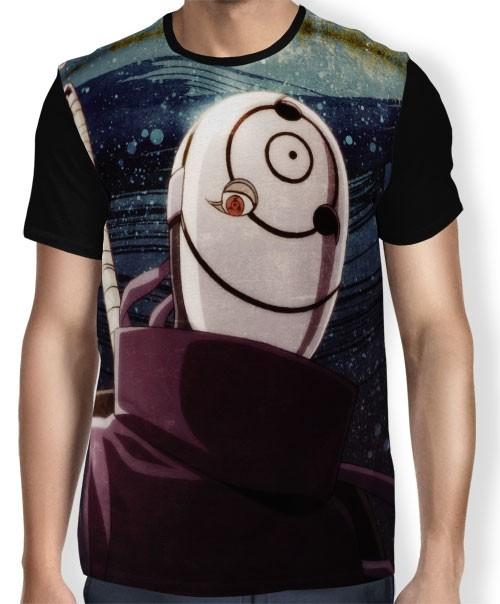 Camisa FULL Face Tobi - Naruto