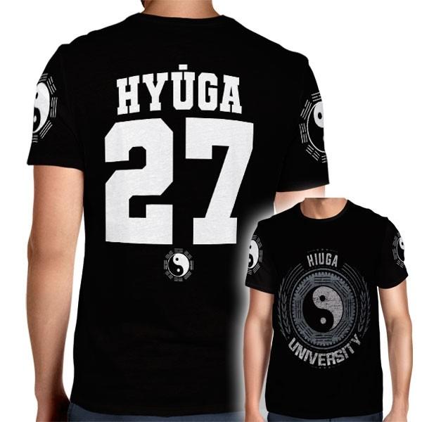 Camisa Full PRINT Hyuga University - Hyuga Hinata - Naruto