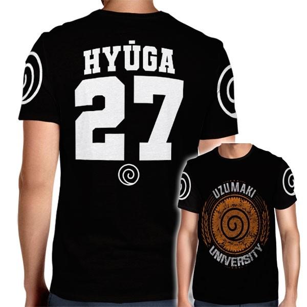 Camisa Full PRINT Uzumaki University - Hyuga Hinata - Naruto
