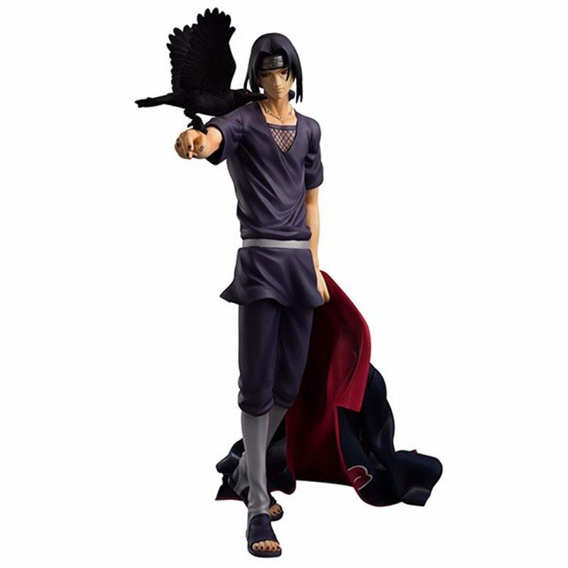 Action Figure Itachi com Corvos - Naruto
