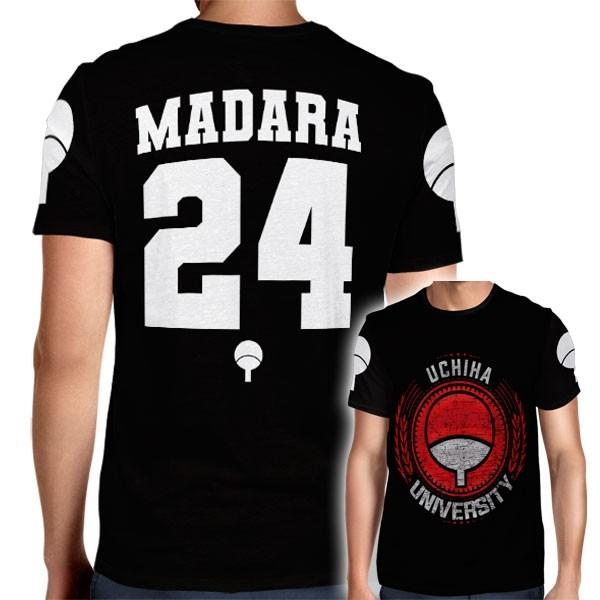 Camisa Full PRINT Uchiha University - Madara - Naruto