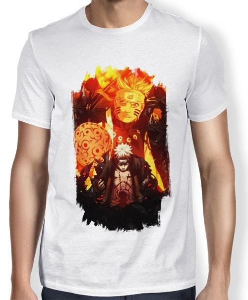 Camisa SB - Tn Brusher Naruto Rikidou