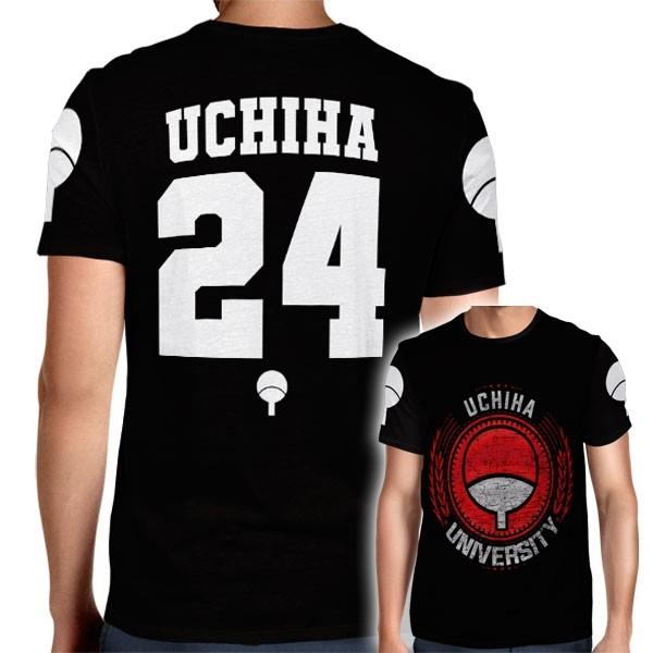 Camisa Full PRINT Uchiha University - Uchiha Madara - Naruto