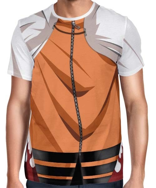 Camisa Full Print Uniforme Naruto Nanadaime Seventh Hokage - The Last