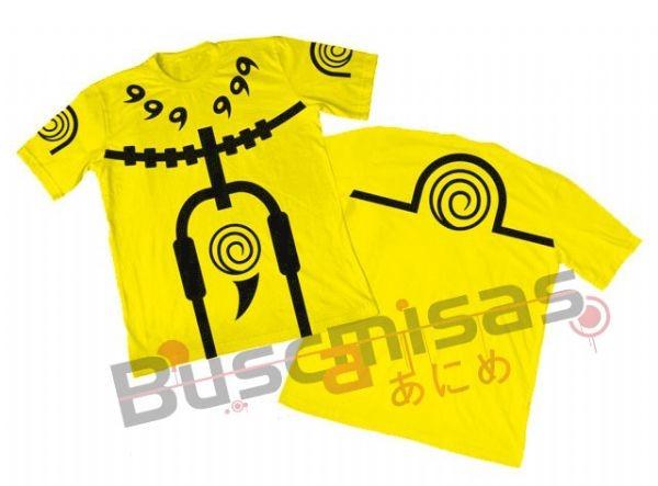 Camisa Naruto - Naruto Rikudou Sennin - Amarela