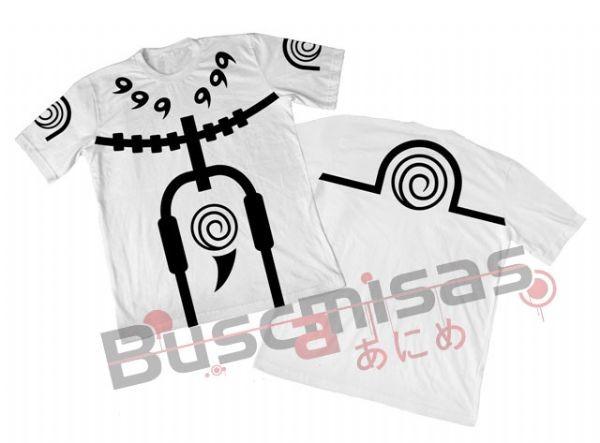 Camisa Naruto - Naruto Rikudou Sennin - Branca