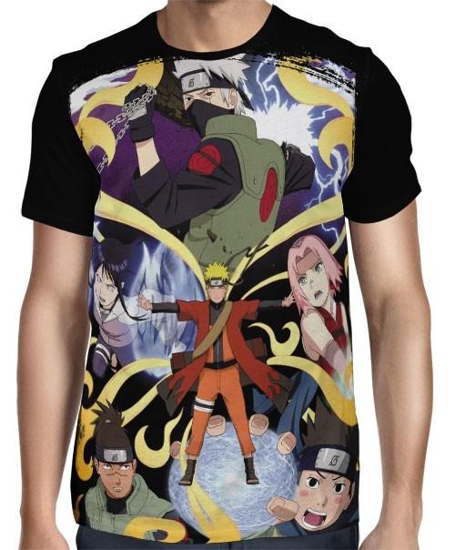 Camisa FULL Shippudden - Naruto