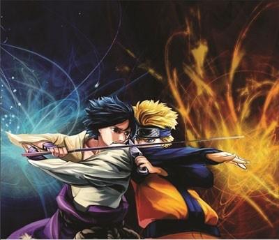 Mouse Pad - Naruto vs Sasuke