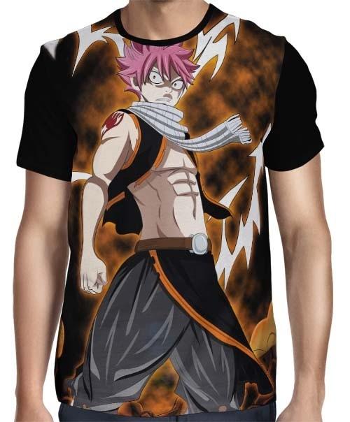 Camisa FULL Angry Natsu - Fairy Tail