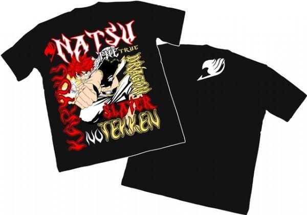 Camisa Fairy Tail - Natsu Tekken
