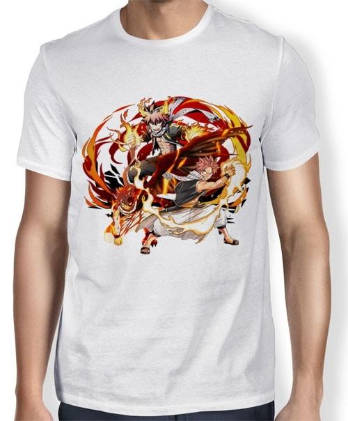 Camisa TN Natsu Dragneel - Fairy Tail