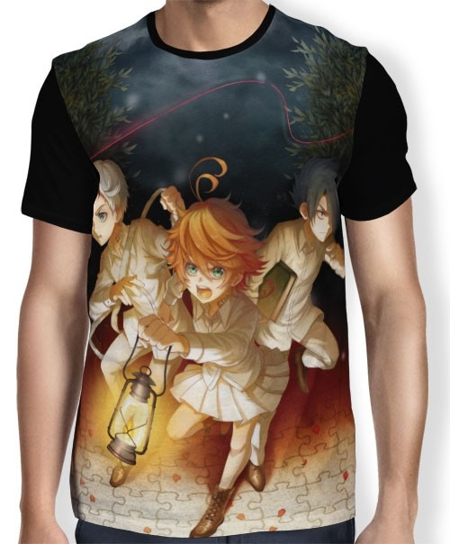 Camisa FULL Yakusoku no Neverland - The Promised Neverland