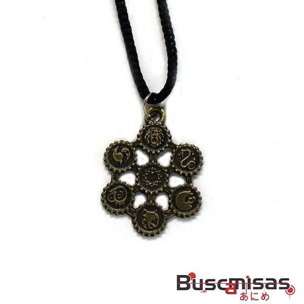 Colar Nanatsu No Taizai - Medalha Simbolos Pecados