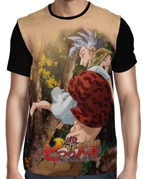 Camisa Full Happy Ban e Elaine - Nanatsu no Taizai