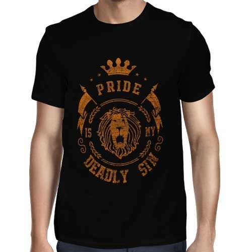 Camisa Full Pride - Orgulho - Escanor  - Só Frente - Nanatsu no Taizai