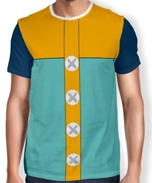 Camisa Full Print Uniforme - King - Nanatsu no Taizai