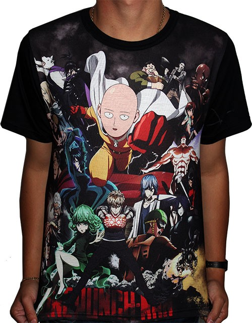 Camisa FULL S-Class Heroes Saitama - One Punch Man