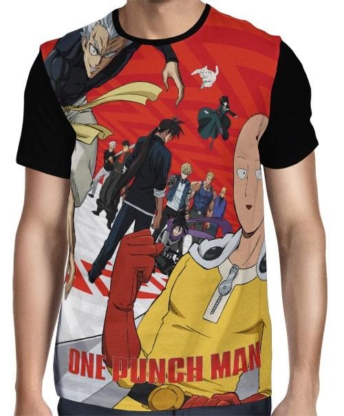 Camisa FULL Heroes 2nd Season  - One Punch Man