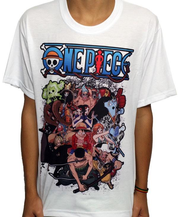 Camisa SB One Piece - Chapeu de Palha