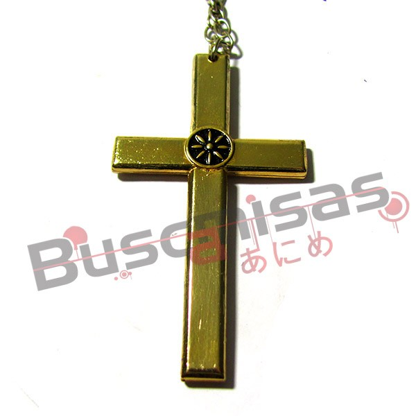 OP-52 - Colar Crucifixo Mihawk