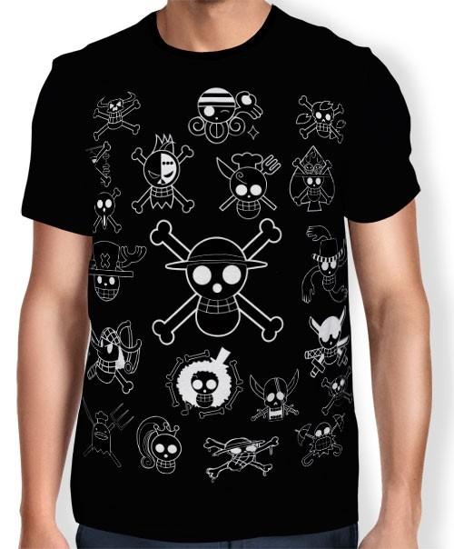 Camisa One Piece - OP bandeira