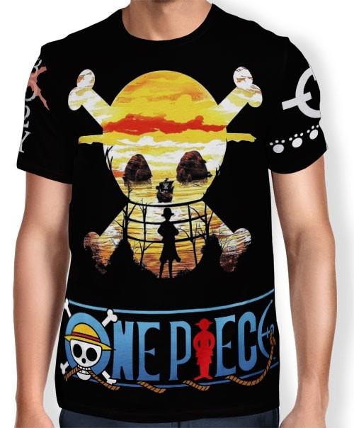Camisa Full Print OP Hope - One Piece