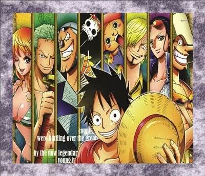 Mouse Pad - Moldura - One Piece