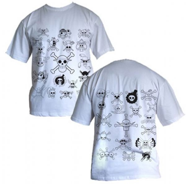 Camisa One Piece - OP bandeira - Modelo 01