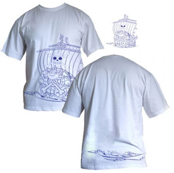 Camisa One Piece - OP Barco - Modelo 01