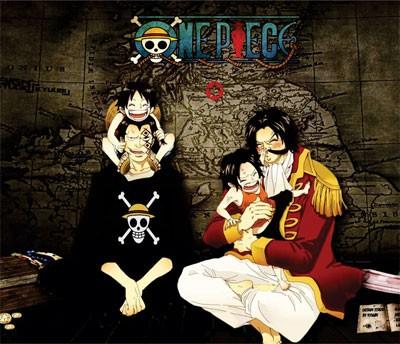 Mouse Pad - Pais e Filhos - One Piece