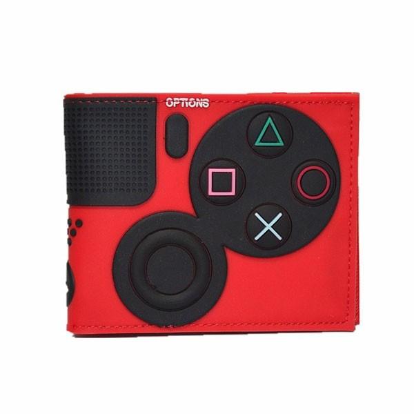 Carteira Premium Controle Playstation 4 - Vermelha