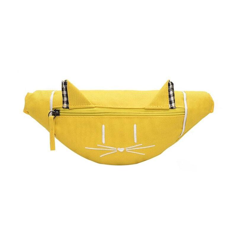 Pochete Gatinho - Amarela