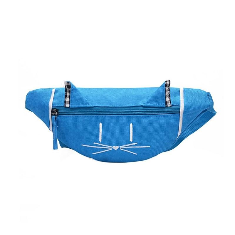 Pochete Gatinho - Azul