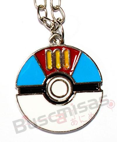 POK-15 - Colar Lure Ball - Pokemon