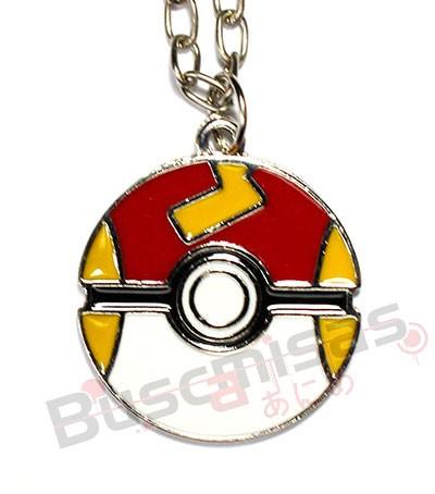 POK-21 - Colar Fast Ball - Pokemon