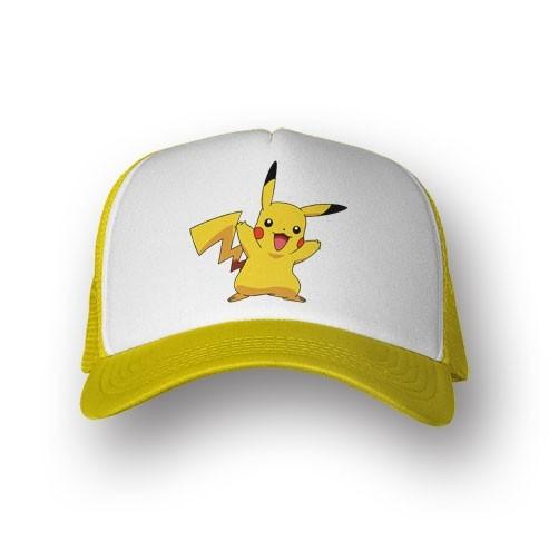 Boné Trucker Pikachu - Pokemon