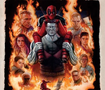 Mouse Pad - IMAX Poster - Deadpool