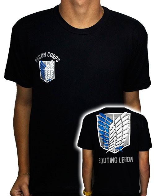 Camisa Shingeki no Kyojin - Recon Corps