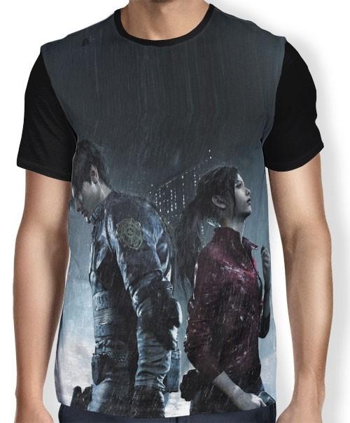 Camisa FULL Resident Evil 2
