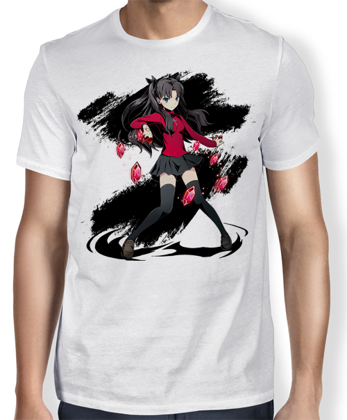 Camisa TN Tohsaka Rin- Fate/ Stay Night
