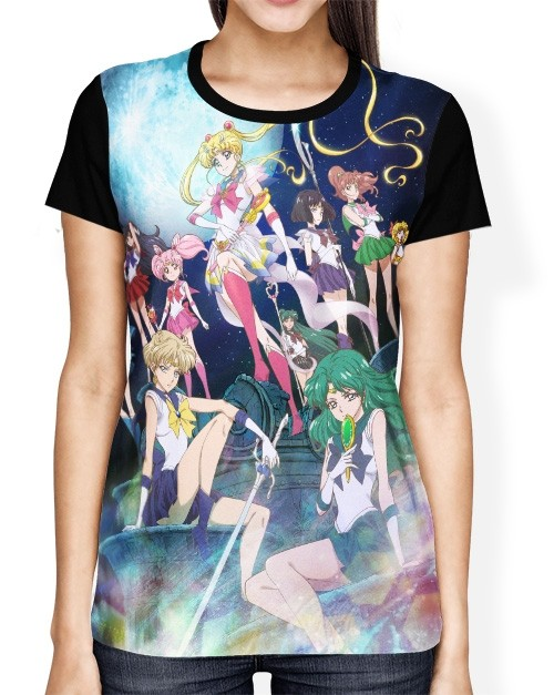 Camisa FULL Crystal - Sailor Moon