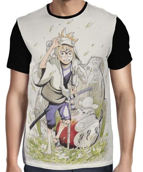 Camisa Full Samurai 8: The Tale of Hachimaru