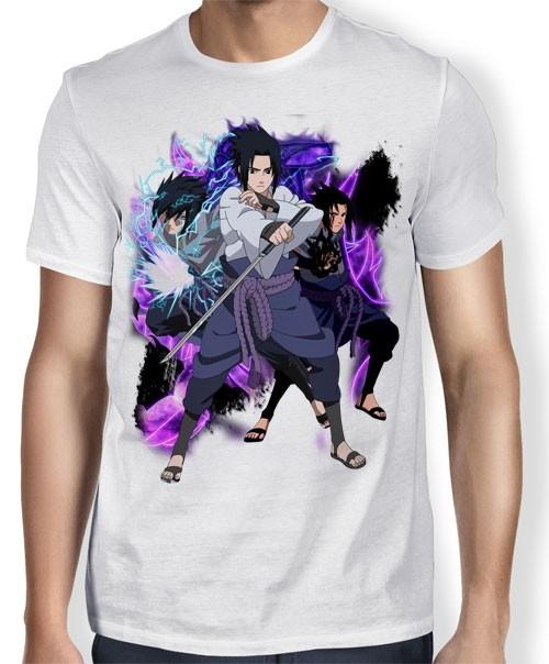 Camisa TN Sasuke Rikudou Mode - Naruto